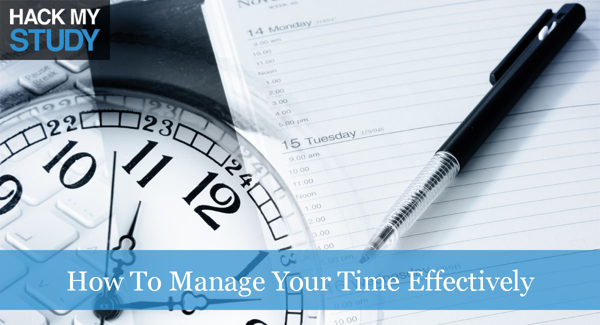 how to manage your time effectively Managing your time course by: todd  there's an entire industry that has grown up around us to help us use time more effectively think about it the time.