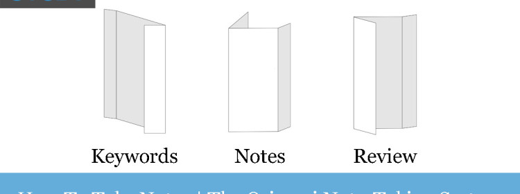 How to take class notes | The Origami Note-Taking System banner